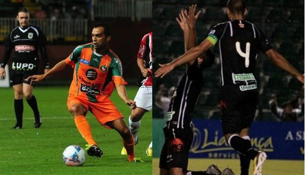 Camboriú vem de empate com o JEC e o Figueirense, de vitória sobre o Metrô (Foto: Salmo Duarte/Agência RBS/Luiz Henrique/Figueirense FC)