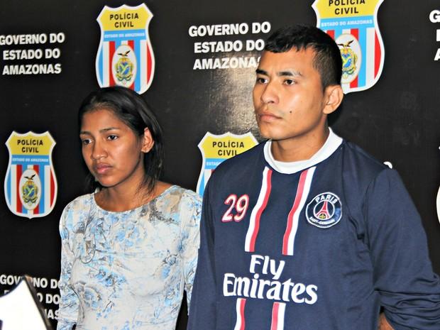 Dupla foi apresentada nesta terça-feira (16), em Manaus (Foto: Suelen Gonçalves/ G1 AM)