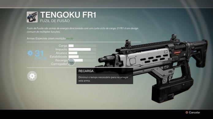 Veja os detalhes das armas (Foto: Reprodução/Murilo Molina)