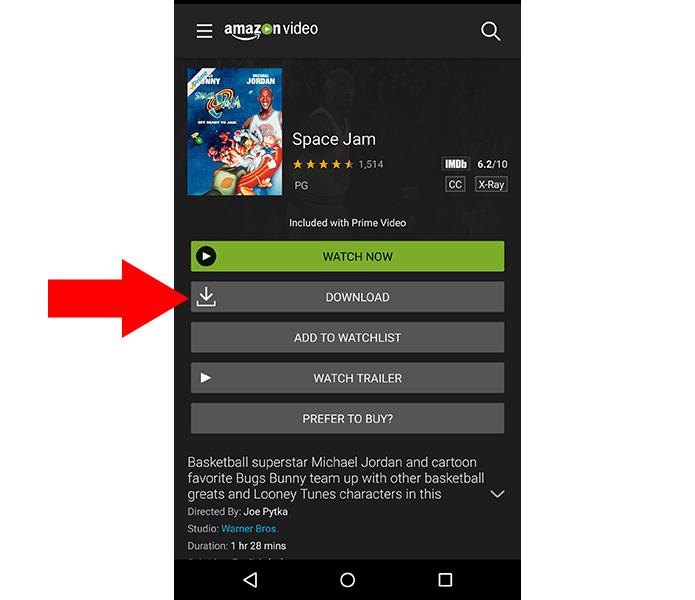 No Android e iOS é possível baixar vídeos para assistir offline (Foto: Reprodução/Paulo Alves)