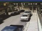 Câmera flagra mais um acidente em cruzamento de Santa Rita do Sapucaí