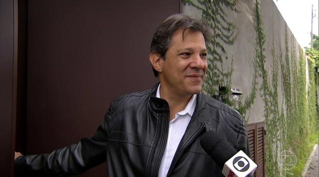 Fernando Haddad posta mensagem em redes sociais parabenizando Jair Bolsonaro