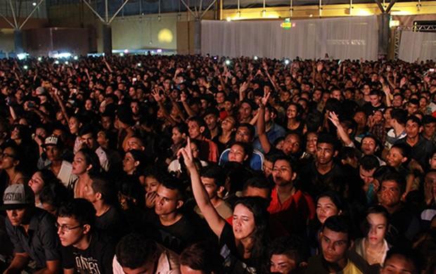 Dezoito mil pessoas prestigiam Festival Promessas (Foto: Katiúscia Monteiro/ Rede Amazônica)