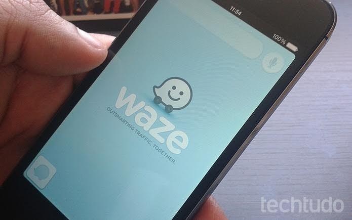 Como usar o Waze com a função Percursos Planejados no iPhone (Foto: Marvin Costa/TechTudo)