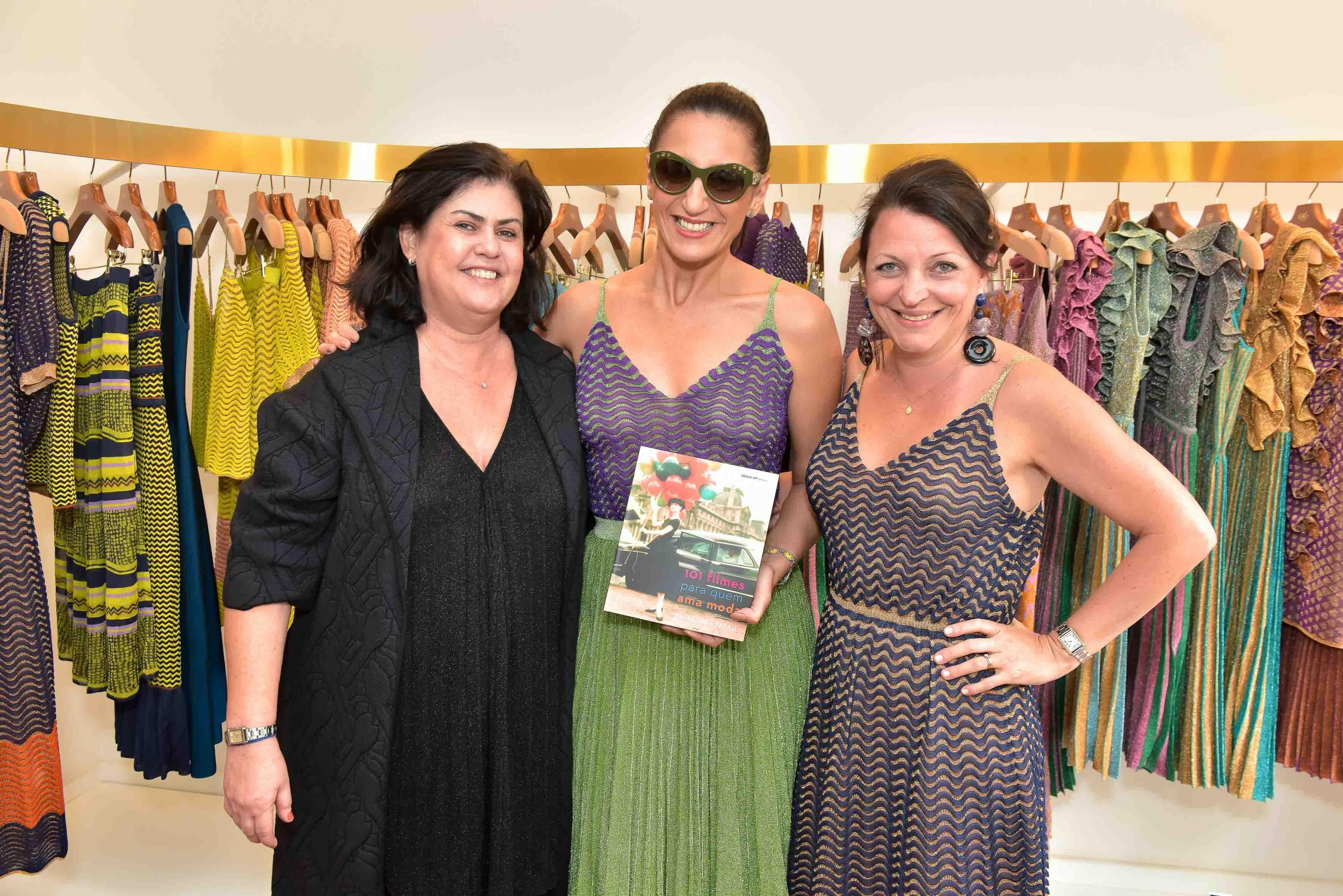 Patricia Schettino, Alê Farah e Gina Guerra  (Foto: Divulgação)