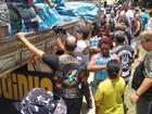 Valadares, MG, recebe água doada por motoclubes de Petrópolis, no RJ