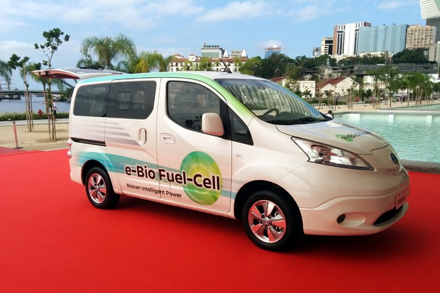 minivan e-NV200 E-Bio-Fuel-Cell (Foto: Divulgação)