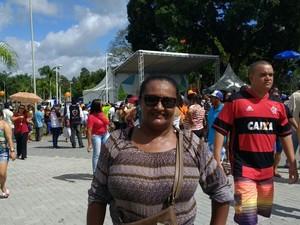 Bem Estar Global em João Pessoa (Foto: Diogo Almeida/G1)