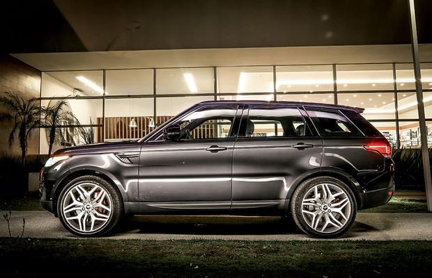 Land Rover Range Rover Sport (Foto: Rafael Munhoz / Autoesporte)