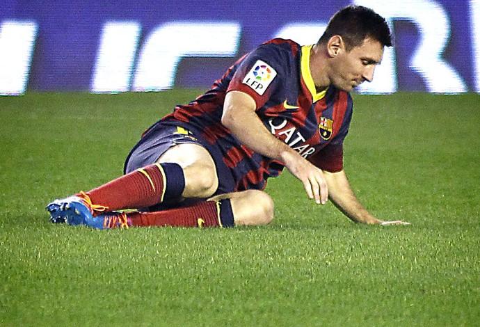 Messi Betis e barcelona (Foto: Agência EFE)