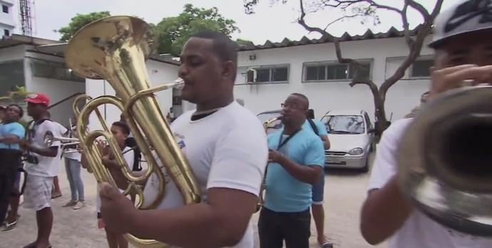 Jovens da região participam de projeto musical (Foto: TV Bahia)