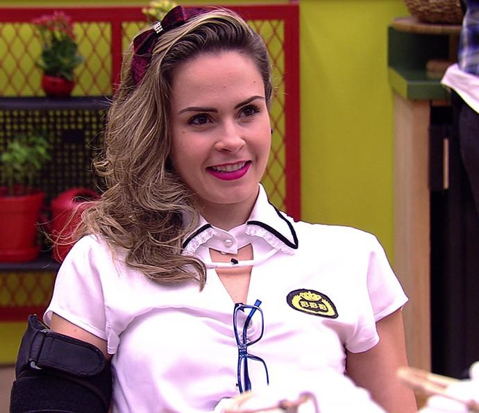 Adelia Festa Sabedoria Semana 06 (Foto: TV Globo)