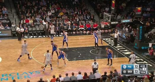 76ers 106 x 101 Nets