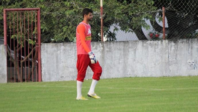 Daniel goleiro do América-RN (Foto: Diego Simonetti/Blog do Major)