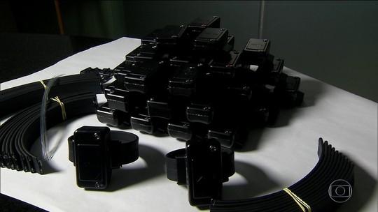 Mais de 24 mil presos usam tornozeleiras eletrônicas