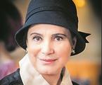 Regina Duarte caracterizada como Madame Lucerne, em 'Tempo de amar' | Globo/ João Miguel Júnior