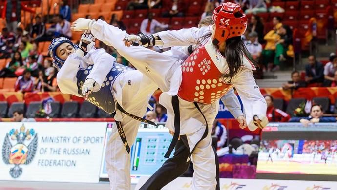 Julia Vasconcelos - taekwondo (Foto: Divulgalção/)