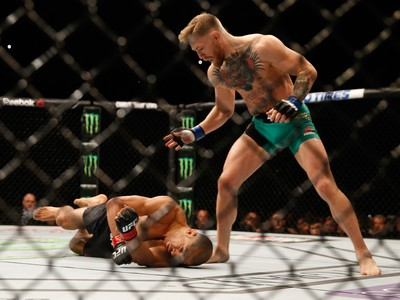 José Aldo, Connor Mcgregor  UFC 194 (Foto: Getty Images)