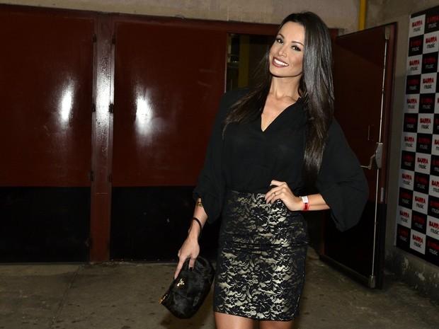 Fernanda D'Avila em show na Zona Oeste do Rio (Foto: Roberto Teixeira/ EGO)