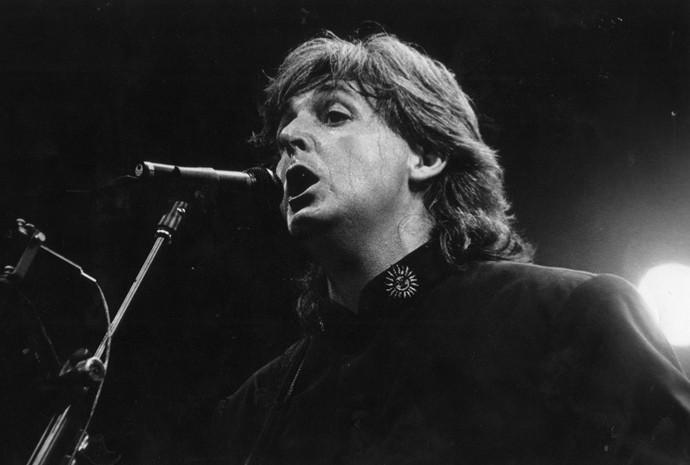 Paul Mccartney em show no Maracanã em 1993