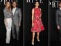 John Legend, Chrissy Teigen e mais famosos vão a desfile em Paris