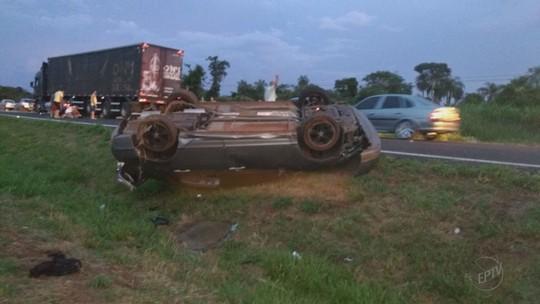 Motorista desaparece após acidente que matou 3 jovens em Pitangueiras