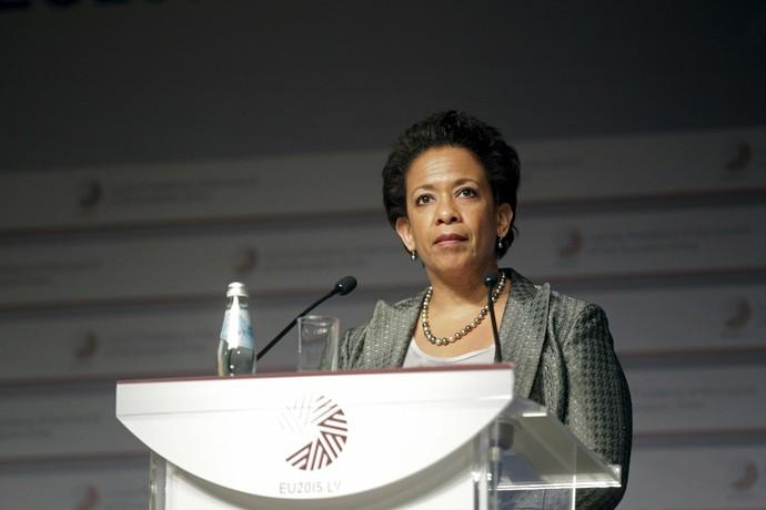 Lynch, procuradora-geral dos Estados Unidos (Foto: Reuters)