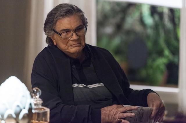 Tarcísio Meira, o Fausto de 'A lei do amor' (Foto: Artur Meninea/TV Globo)