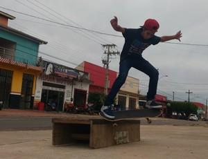 Skatista de Ji-Paraná (Foto: Marco Bernardi)