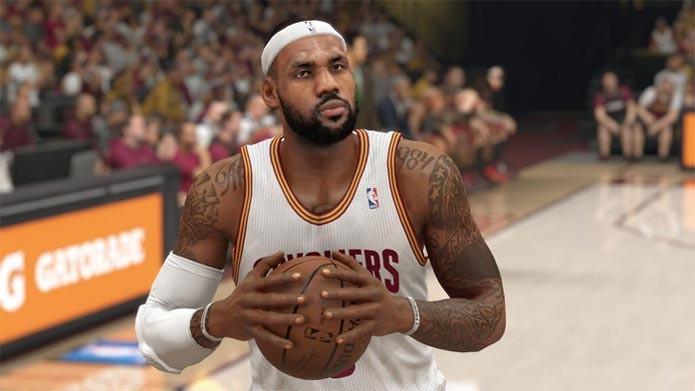 NBA 2K15 (Foto: Divulgação)