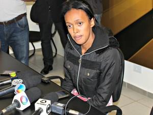 Jovem é apontada pela polícia como coautora do assassinato (Foto: Graziela Rezende/G1 MS)