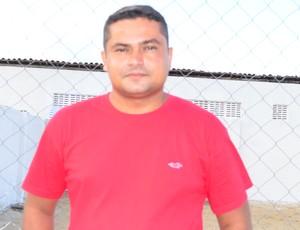 Marcel Santos, diretor de futebol do Santa Cruz de Santa Rita (Foto: Rammom Monte / GloboEsporte.com/pb)