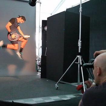 Roger Federer tocando guitarra (Foto: Reprodução/instagram)