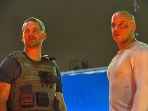 Vin Diesel revela foto de 'Velozes e furiosos 7' (Foto: Divulgação)