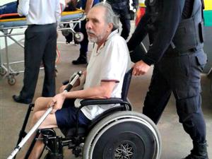 Hildebrando foi internado no hospital de Rio Branco nesta segunda-feira (10) (Foto: Gleyciano Rodrigues/ Arquivo pessoal )