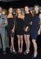 Veja o estilo das famosas em evento do Globo de Ouro, em Los Angeles
