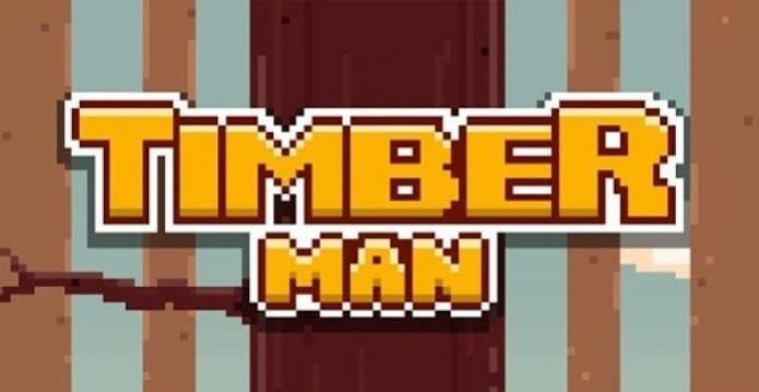 Timberman: jogo alcançou 1 milhão de downloads em três dias (Foto: Reprodução/Google Play) (Foto: Timberman: jogo alcançou 1 milhão de downloads em três dias (Foto: Reprodução/Google Play))