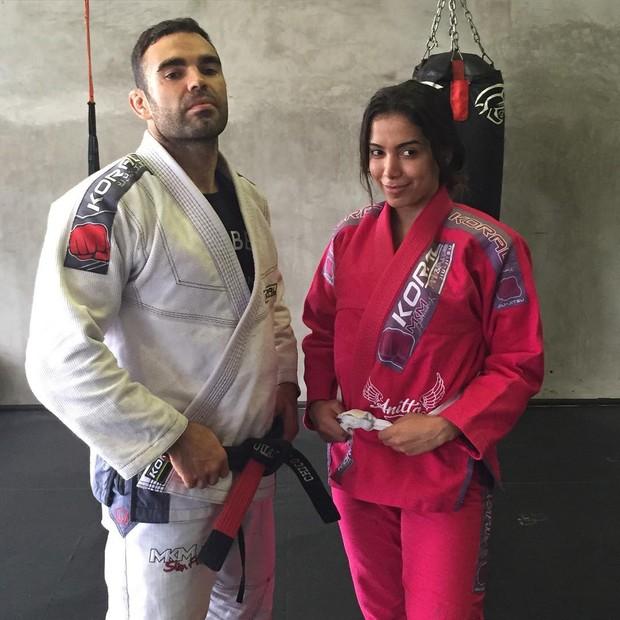 Chico Salgado e Anitta (Foto: Instagram / Reprodução)