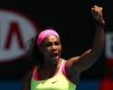 Serena dá show nos saques, vence Cibulkova e vai às semis na Austrália