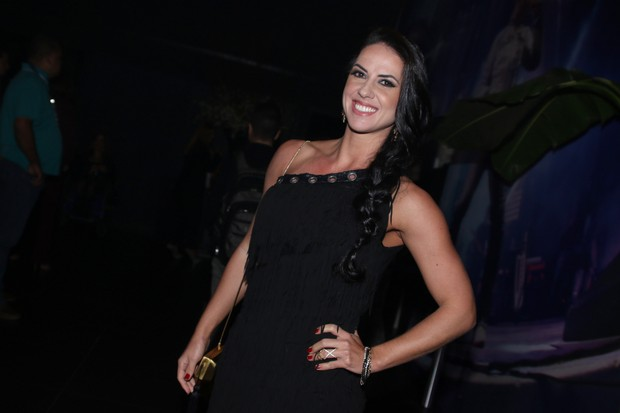 Graciele Lacerda (Foto: Thiago Duran e Eduardo Martins/AgNews)