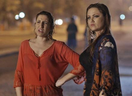 Leonora encontra a ex-BBB  Ana Paula no Rio de Janeiro