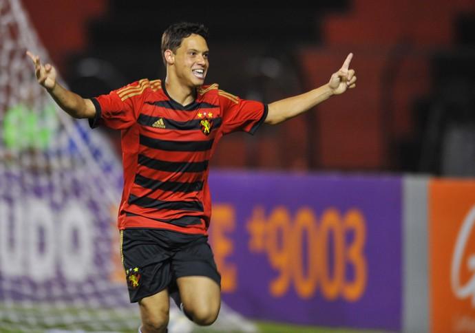 Sport x Bahia - gol Mike (Foto: Aldo Carneiro/ Pernambuco Press)