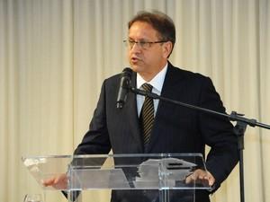 Governador eleito Marcelo Miranda fez discurso em nome de todos os eleitos (Foto: Divulgação/TRE-TO)