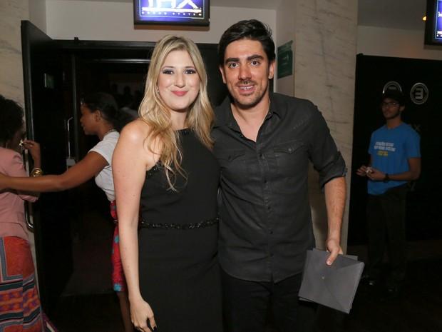 Dani Calabresa e Marcelo Adnet em pré-estreia de filme no Rio (Foto: Felipe Assumpção/ Ag. News)
