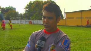 Nilton Nery técnico do Galvez (Foto: Reprodução/TV Acre)