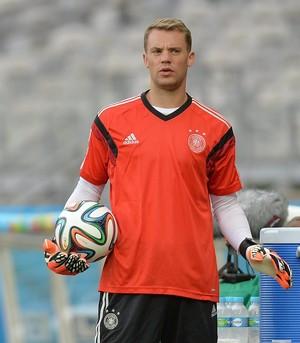 Neuer treino Alemanha Mineirão (Foto: EFE)
