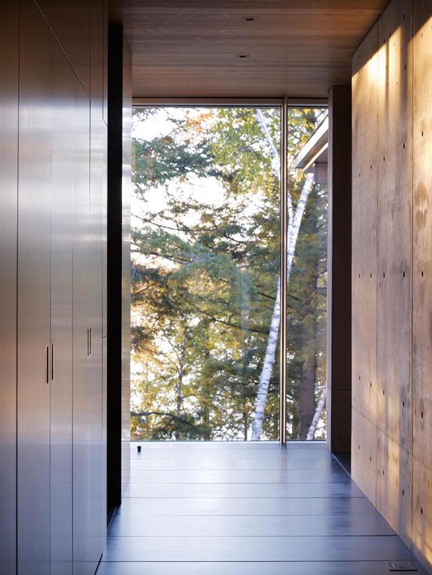 Uma casa feita para viver na floresta (Foto: OK/Divulgação)