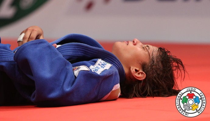Sarah Menezes no Grand Prix de Havana (Foto: IJF)