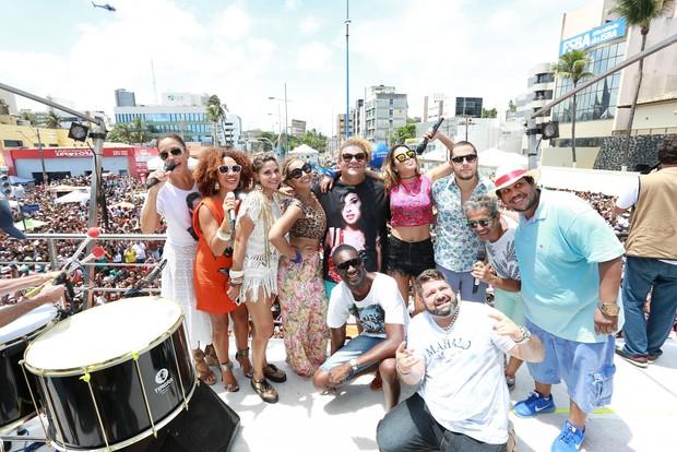 Arrastão da Ivete Sangalo em Salvador (Foto: Dilson Silva / AgNews)