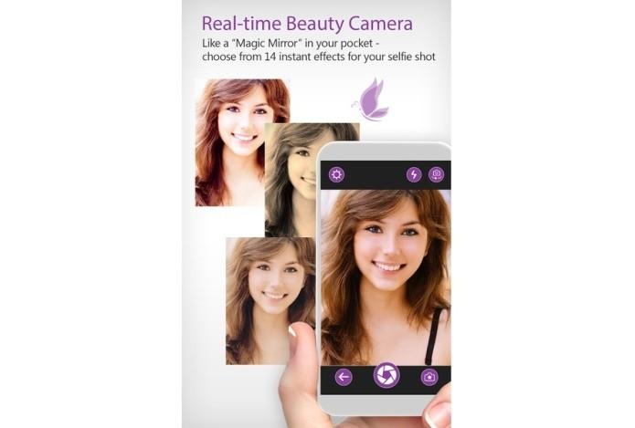 YouCam possui recurso de maquiagem para o rosto (Foto: Divulgação)
